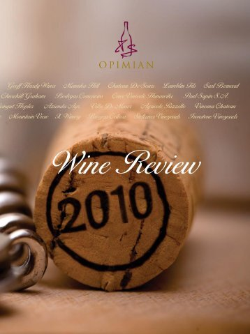 Wine Review 2010