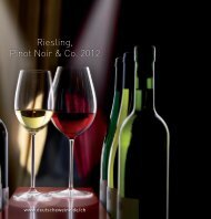 Riesling, Pinot Noir & Co. 2012 Katalog - Deutsches Weininstitut