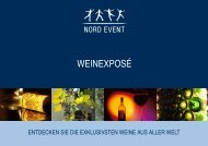 WEINEXPOSÉ - Nord Event Catering