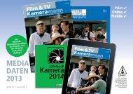 Jahrbuch Kamera 2014 - Film & TV Kameramann