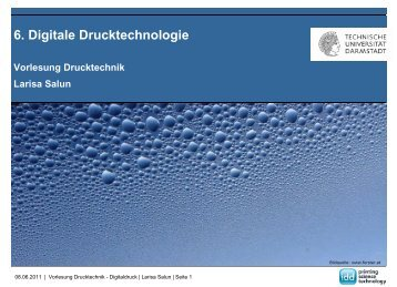 Elektrofotografie - IDD - Technische Universität Darmstadt