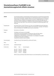 Simulationssoftware FluidSIM® in der ... - Festo Didactic