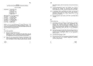 Gebühren für Sondernutzungen - Esslingen