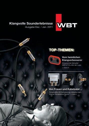 Top-Themen: Vom heimlichen Klangverbesserer - WBT
