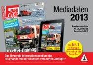 Werben Sie ohne Streuverlust! www.feuerwehrmagazin.de