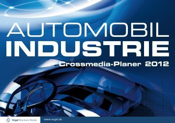 AI Crossmedia-Planer 2012 - Automobil Industrie - Vogel Business ...