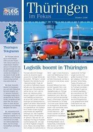 Logistik boomt in Thüringen im Fokus