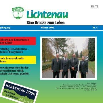 Schule für Physiotherapie Neues ... - Lichtenau e.V.
