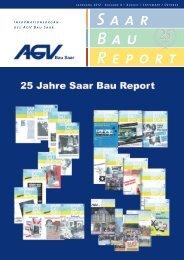 Saar Bau Report Nr. 4/2012 - AGV Bau Saar