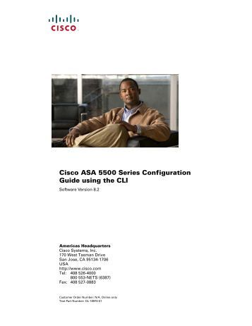 Asa cli reference guide