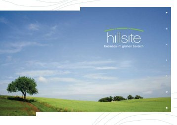 hillsite-Broschüre (PDF-Datei) - Groß & Partner