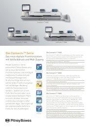 Datenblatt Connect+ Serie (pdf) - Pitney Bowes Deutschland GmbH