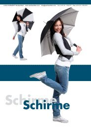 Schirme - LOGO-KONZEPT Werbeartikel