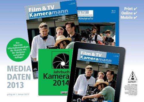 Jahrbuch Kamera 2014 - Ebner Verlag GmbH & Co KG