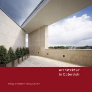 Architektur in Gütersloh - 1. Ausgabe - Architekturbüro Spooren