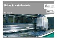 Continuous Inkjet - IDD - Technische Universität Darmstadt