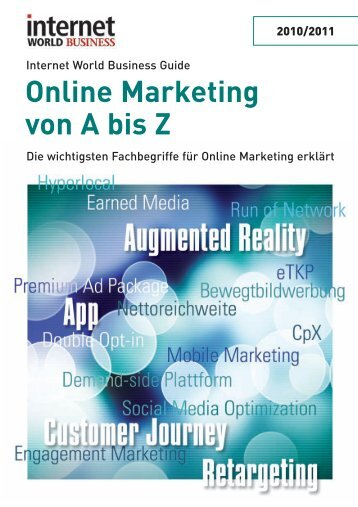 Online Marketing von A bis Z - Internet World Business