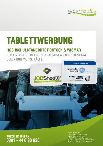 tablettwerbung - novus Marketing