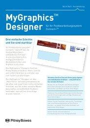 Prospekt MyGraphics - Pitney Bowes Deutschland GmbH
