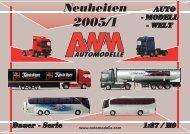 AWM Neuheiten 2005-1 als EBook (pdf) - AWM Automodelle
