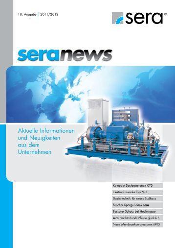 sera news 2011 - Seybert & Rahier GmbH + Co. Betriebs-KG