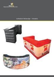 Aufblasbare Theken - KonORG Display Discount International GmbH