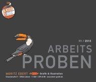 Arbeitsproben als PDF - Moritz Ebert - Grafik & Illustration