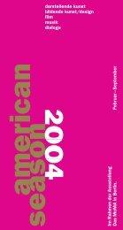 darstellende kunst bildende kunst/design film musik dialoge Im ...