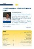 DAS KUNDENMAGAZIN - Bäckerei Gillen - Seite 2