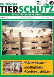 Tierschutzverein Reutlingen eV