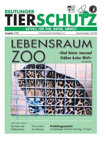 REUTLINGER - Tierschutzverein Reutlingen eV