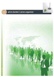 pCon.basket / pCon.organizer - weber office solution gmbh