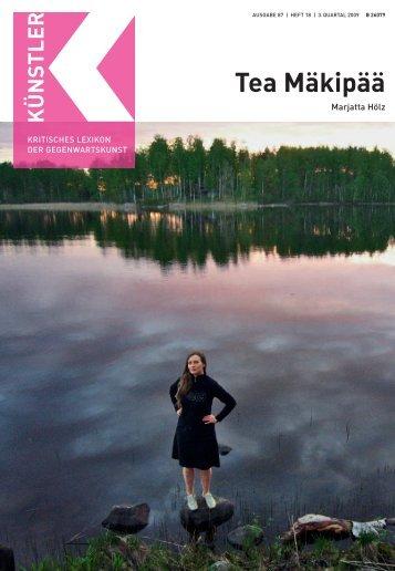 Tea Mäkipää M - Weltkunst