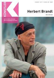 Herbert Brandl B - Zeit Kunstverlag