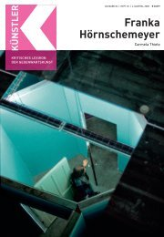 H Franka Hörnschemeyer - Zeit Kunstverlag