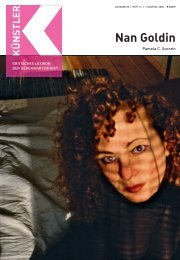 Nan Goldin G - Zeit Kunstverlag
