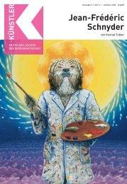 Jean-Frédéric Schnyder - Zeit Kunstverlag