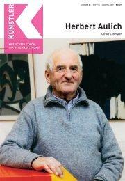Herbert Aulich - Zeit Kunstverlag