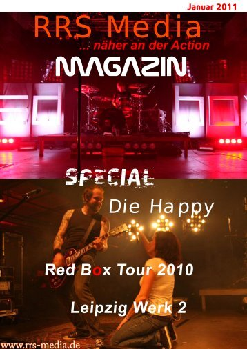 RRS Media Magazin Special Die Happy 2011