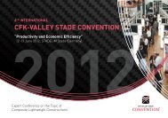 6th International CFK-Valley Stade Convention - PresseBox