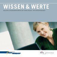 WISSEN & WERTE