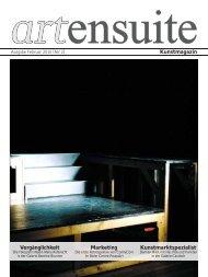artensuite // Schweizer Kunstmagaziin 2010