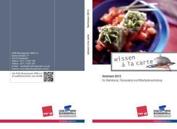 wissen Inhalt_2013_Layout 1 - DGB-Bildungswerk NRW e.V.