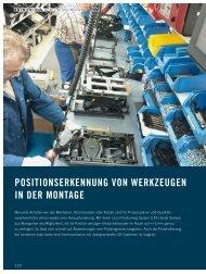 POSITIONSERKENNUNG VON WERKZEUGEN IN ... - sarissa GmbH