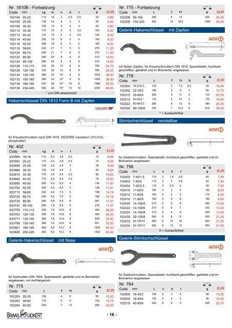 WERKZEUGE KATALOG 2012 Bord-Werkzeuge für Ihre Maschinen ...