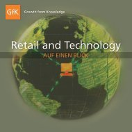 Retail and Technology - GfK