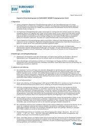 Download Einkaufsbedingungen - Burkhardt und Weber ...