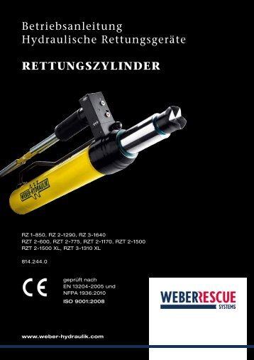 RettungszylindeR - Weber-Hydraulik GmbH