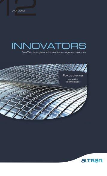 "Altran ""Innovators"" Magazin Nr. 1/12"