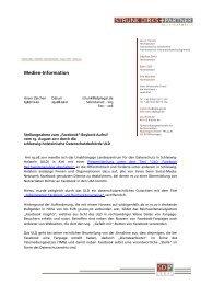 """Stellungnahme zum """"Facebook"""" - LEGALIT.de"""